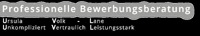 Professionelle Bewerbungsberatung Ursula Volk-Lane